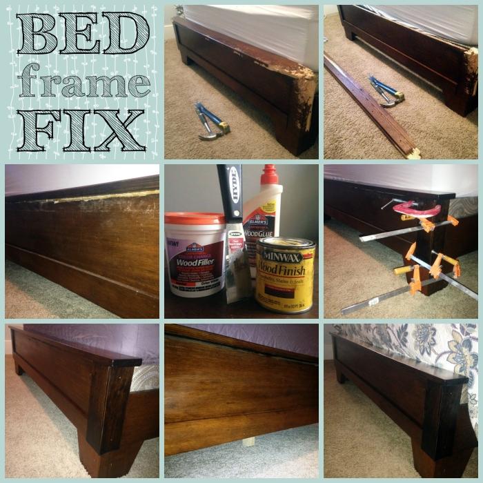 Bed Fram Fix Collage